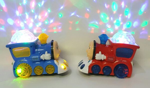 Light Train With Flashing Light