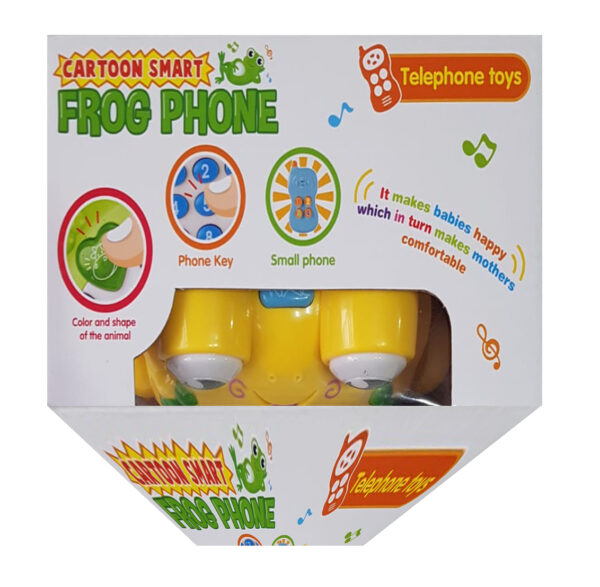 Frog Cartoon Phone